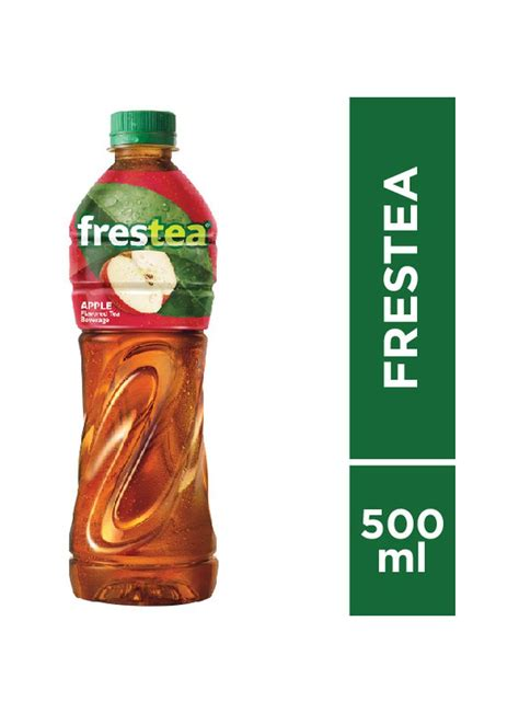 Teh Frestea frestea minuman teh frutcy apel btl 500ml klikindomaret