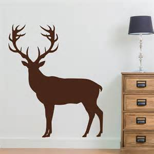 deer silhouette wall sticker wall stickers 58cmx126cm forest fawn deer wall sticker wall decal home