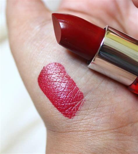 Lipstik Maybelline Velvet maybelline colorshow lipstick velvet 209 review