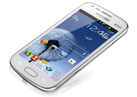 mobile samsung galaxy duos samsung galaxy s duos with 4 inch display 1 ghz processor