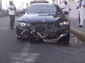 usain bolt crashes another bmw m3