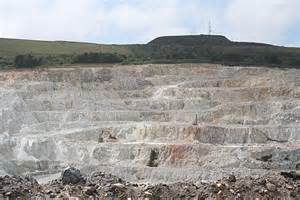 pit clay treverbyn wheal martyn china clay pit 169 martin bodman