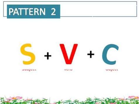 svc pattern of sentences svc svo pattern youtube