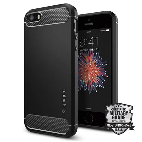 rugged iphone 5 spigen iphone 5s se 5 rugged armor kılıf