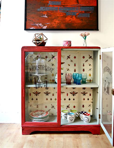 decoupage cupboard the best chalk paint for a unique cupboard upcycle