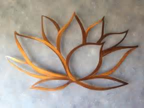 Lotus Flower Sculpture Lotus Flower Metal Wall Lotus Metal Home Decor