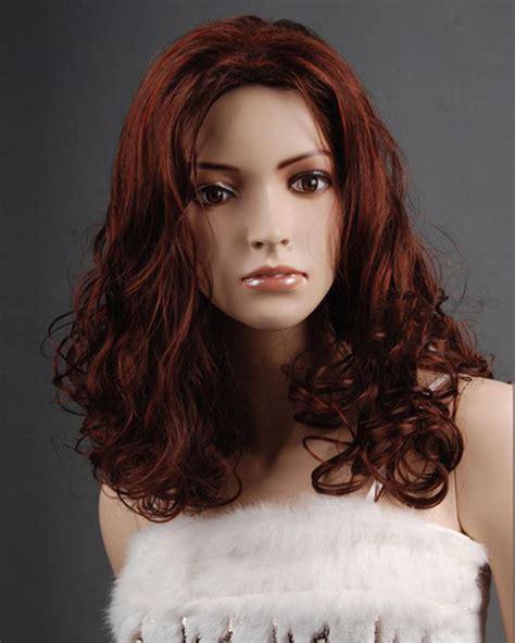 33h130 medium wigs wavy synthetic hair wig