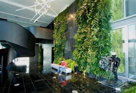 indoor wall natura towers  vertical garden design