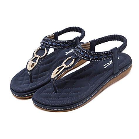 Flat Shoes Warna Abu dolphinbanana bohemian glitter summer flat sandals t prime shoes buy