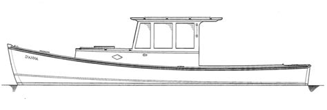 lobster boat diana d anna hylan brown boatbuilders brooklin maine
