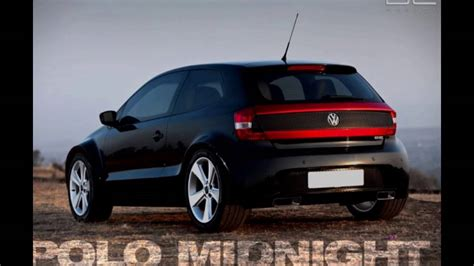 volkswagen polo black modified modified volkswagen polo youtube