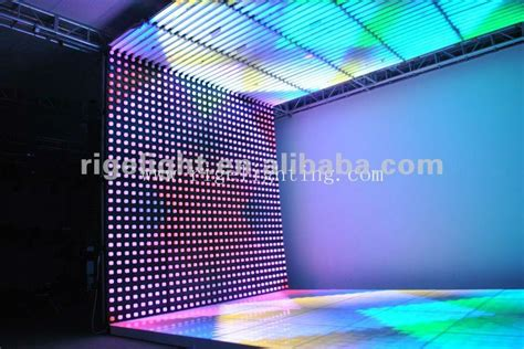 led digital curtain wall display screen display screen stage light buy led curtain screen led