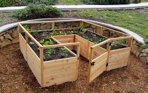 raised garden bed kit    outdoor living today
