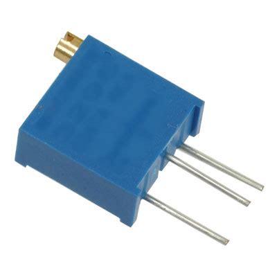 1k resistor 1 2 watt 3296y 1 102 vp lf jameco valuepro resistor trimmer 1k ohm 10 1 2 watt 25 turn 2 19mm pin