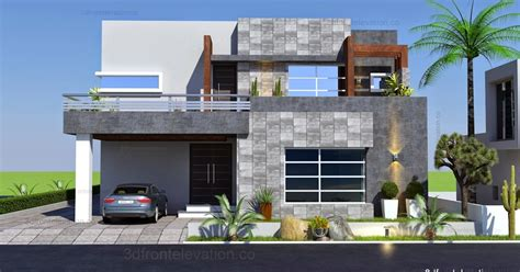 architectural design of 1 kanal house 3d front elevation com 1 kanal contemporary house plan