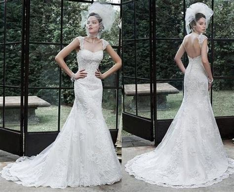 beaded backless wedding dress new 2016 backless wedding dresses applique beaded court