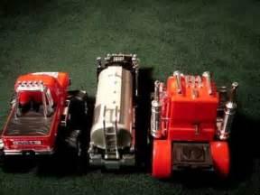 3 trucks 3 talking alarm clocks wmv