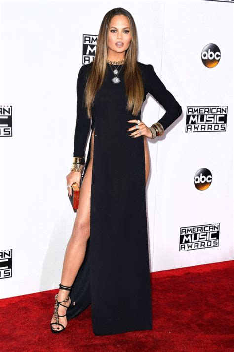 Fashion Overall Kh 22 C Cg324 chrissy teigen claps back at amas dress haters via us weekly