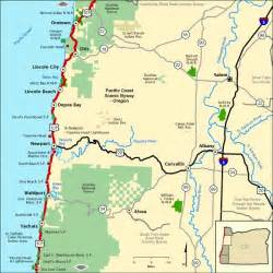 oregon scenic drives map 1000 images about oregon state on