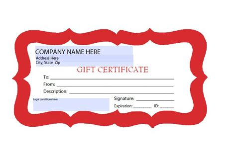 templates for gift certificates free downloads 41 free gift certificate templates free template downloads