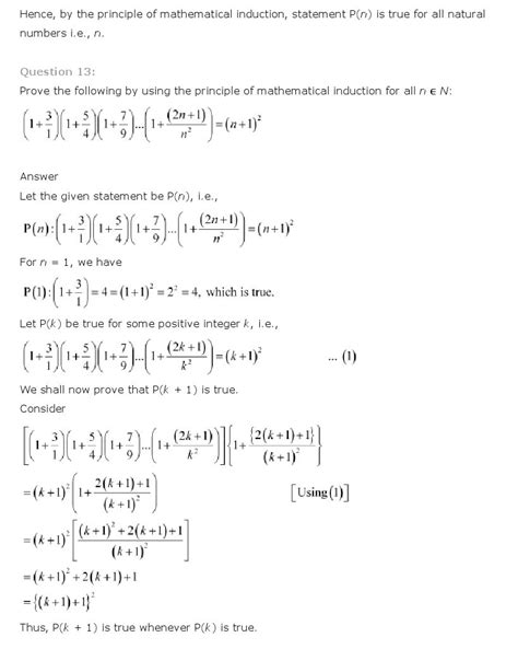 principle of mathematical induction class 11 mathematics ncert solutions
