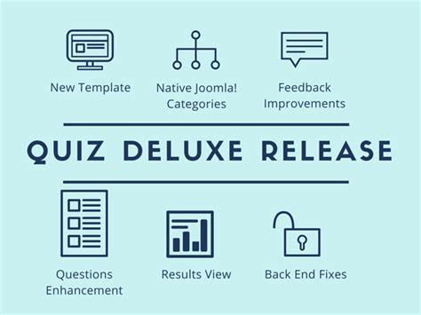 meet joomla quiz deluxe 3 7 0 joomla quiz deluxe release new template and multiple