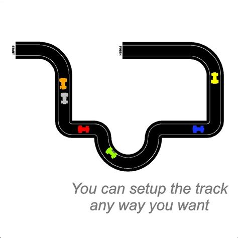 race track wall stickers race car tracks wall decals removable race track wall stickers