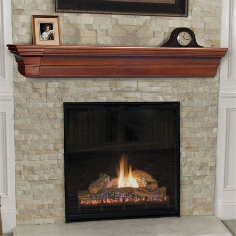 pearl mantels lindon traditional fireplace mantel shelf