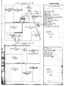 butler township tax map 1931
