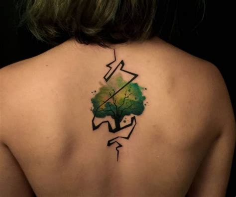 watercolor tattoo glasgow watercolor tattoos beauteous trees tattoodo