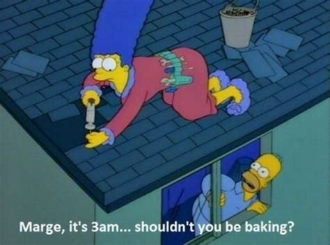 Simpsons Not A Is Creeping Out Mayer by Pictures Auto Simpsons Marge Homer Baking
