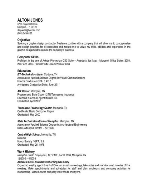 resume text exles plain text resume sle best resume exle