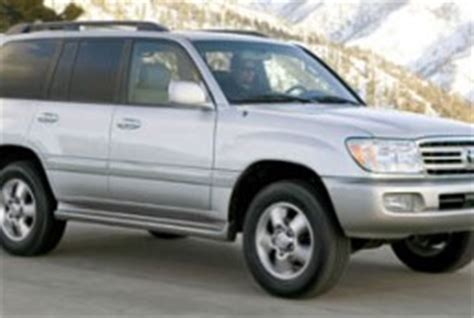 Toyota Sequoia Vs Land Cruiser 2006 Toyota Land Cruiser Vs 2006 Toyota Sequoia The Car
