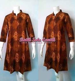 Kemeja Batik Sogan Genes batik sogan baju kerja batik