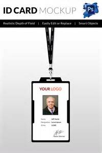 Id Badges Template by 30 Blank Id Card Templates Free Word Psd Eps Formats