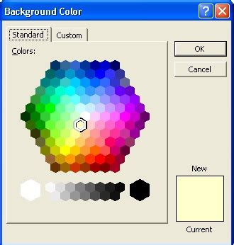 powerpoint hexagon color picker color pickers