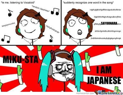 Vocaloid Meme - miku hatsune vocaloid vocaloid asdf otaku diva ultra star