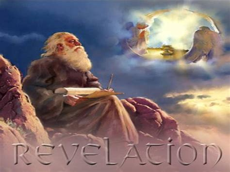 apostle speaks from heaven a revelation books a glimpse of the glorified revelation 1 4 20