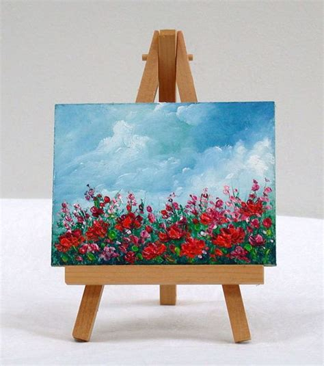 simple designed and painted tiny 1000 ideas about small paintings on paintings