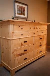 knotty pine dresser pinandscroll