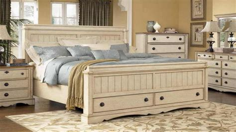 bedroom compact distressed white bedroom furniture