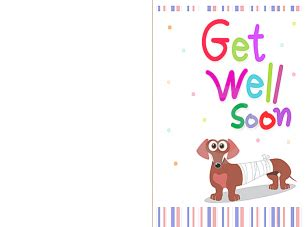 printable get well soon card templates printable get well soon cards