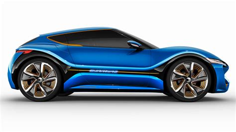 Car Side View Wallpaper by 2015 Nanolowcell Quantino Side View Blue Car Wallpaper