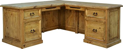 Rustic L Shaped Desk Rustic L Shaped Desk Wood L Shaped Desk Pine Wood L Shaped Desk