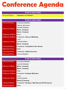 Post Event Report Template 6 conference agenda template bookletemplate org