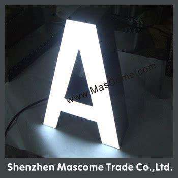 led letters to make signs 3d light box letter sign light