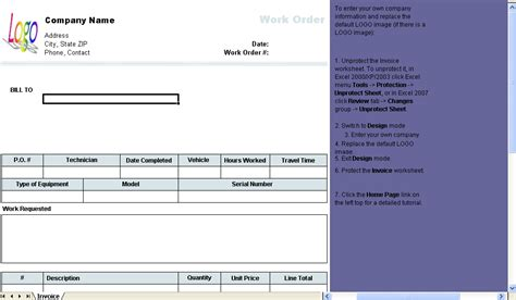 beta layout jobs work order template download