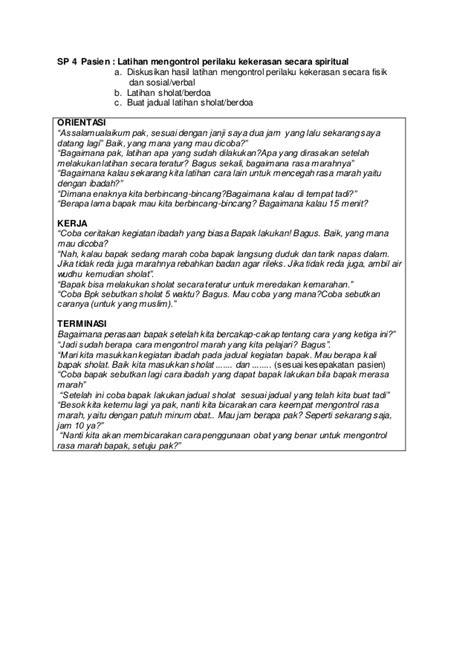 Buku panduan keperawatan jiwa 2