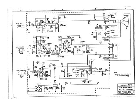 monitor circuit diagram crt monitor schematic diagram pictures to pin on