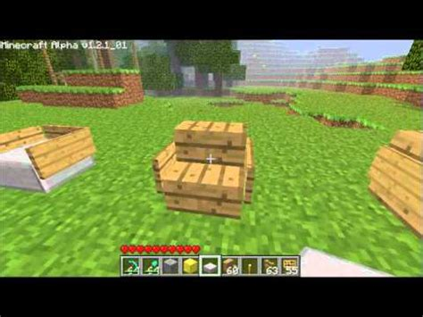 How To Make Chairs - minecraft tips how to make chairs